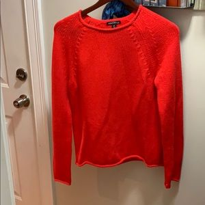 Red J. Crew Sweater
